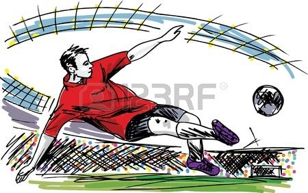 nogometaš gol